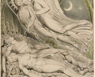 Иллюстрации к поэме Джона Мильтона 'Потерянный рай' — Уильям Блейк