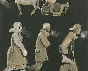 Иллюстрации к книге Н. Асеева 'Кутерьма' — Александр Дейнека