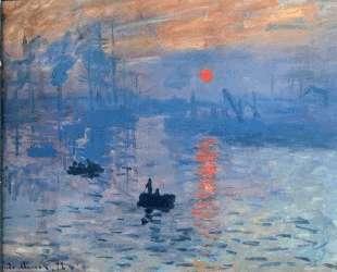 Впечатление. Восход солнца — Клод Моне