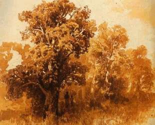 In an Oak Grove — Фёдор Васильев