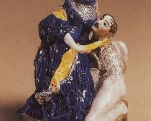 Влюбленный (На камне) — Константин Сомов