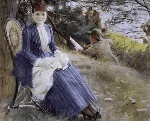 In Scotland (Mrs. Symons) — Андерс Цорн