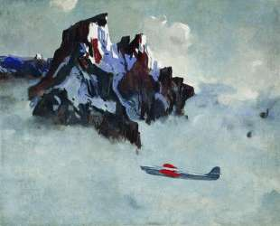 В воздухе — Александр Дейнека