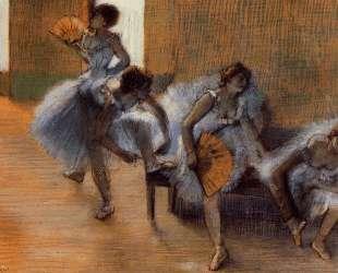 В танцевальной студии — Эдгар Дега