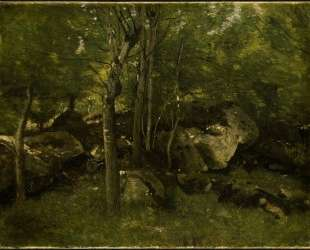 В лесу Фонтенбло — Камиль Коро
