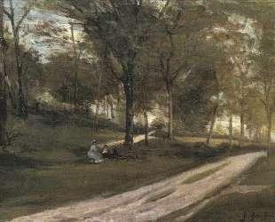В лесу Сен-Клу II — Поль Гоген