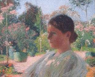 In the Garden — Анри Мартен