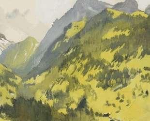 В горах. Швейцария — Зинаида Серебрякова