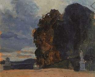 В Версальском парке — Константин Сомов