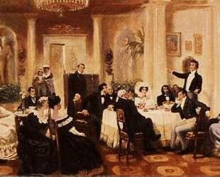 В салоне Зинаиды Волконской — Григорий Мясоедов
