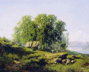 В окрестностях Петербурга — Фёдор Васильев