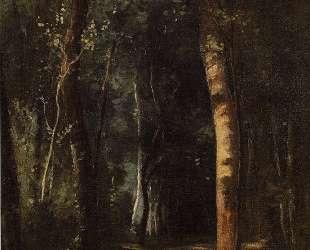 In the Woods — Камиль Писсарро