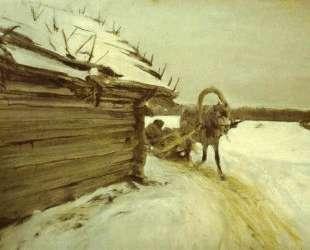 Зимой — Валентин Серов