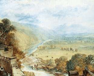 Ingleborough From The Terrace Of Hornby Castle — Уильям Тёрнер