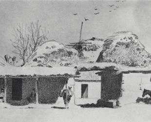 Inn near Tashkent — Василий Верещагин