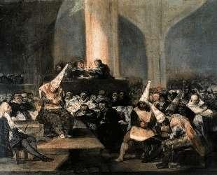 Inquisition Scene — Франсиско де Гойя
