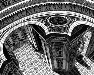 Inside St. Peter's, Rome — Мауриц Корнелис Эшер