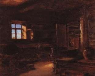 Интерьер избы — Василий Поленов