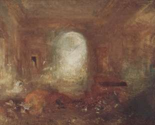 Interior of Petworth House — Уильям Тёрнер