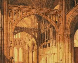 Interior of Salisbury Cathedral — Уильям Тёрнер