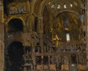 Interior of St Mark's, Venice — Уолтер Сикерт