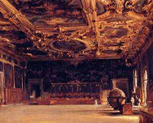Interior of the Doge's Palace — Джон Сингер Сарджент
