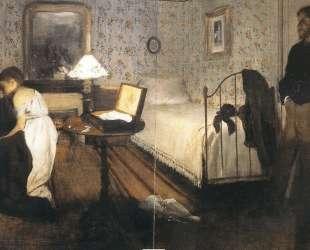 Интерьер (Насилие) — Эдгар Дега