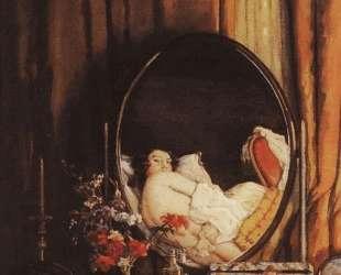 Интимные отражения в зеркале на туалетном столике — Константин Сомов