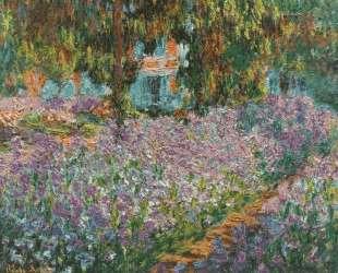 Ирисы в саду Моне — Клод Моне
