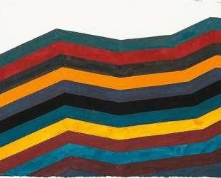 Irregular Horizontal Bands of Equal Width Starting at Bottom — Сол Ле Витт