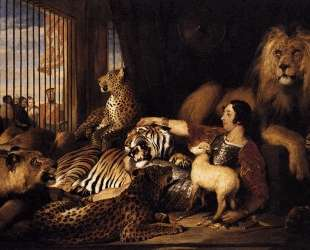 Isaac van Amburgh and his Animals — Эдвин Генри Ландсир