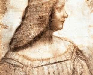 Isabella d'Este — Леонардо да Винчи