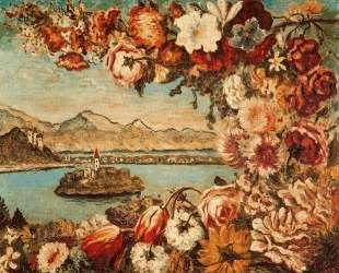 Остров и цветочная гирлянда — Джорджо де Кирико