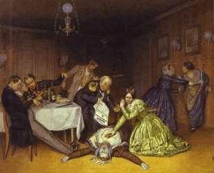 It is Cholera to Blame — Павел Федотов