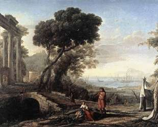 Italian Coastal Landscape — Клод Лоррен