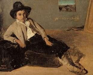 Итальянский крестьянин — Камиль Коро