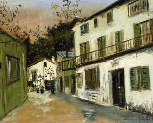 Italian's house at Monmartre — Морис Утрилло