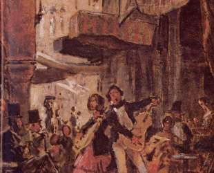 Italian street singer — Карл Шпицвег