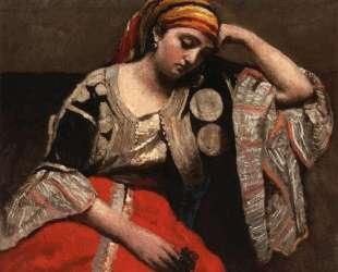 Итальянка (Еврейка Алжира) — Камиль Коро