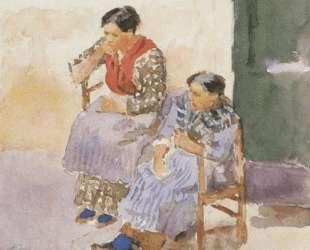 Итальянки — Василий Суриков