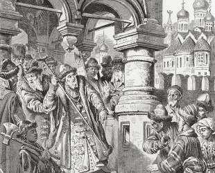 Иоанн III топчет ханскую басму — Константин Маковский
