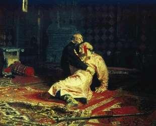 Иван Грозный и его сын Иван 16 ноября 1581 года — Илья Репин