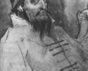 Ivan the Terrible(Sketch) — Виктор Васнецов