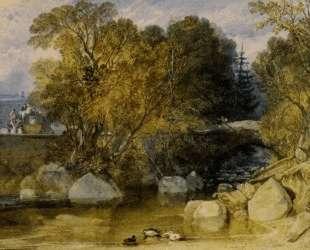 Ivy Bridge, Devonshire — Уильям Тёрнер
