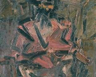 Сидящая J. Y.M №1 — Франк Ауэрбах