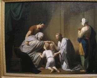 Jacob Blessing Ephraim and Manasseh — Бенджамин Уэст