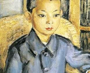 Японский мальчик — Давид Бурлюк