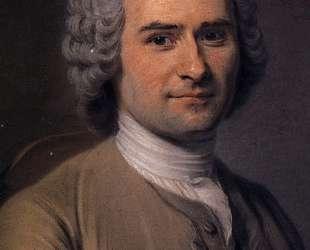 Jean-Jacques Rousseau — Морис Кантен де Латур