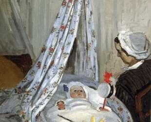 Жан Моне в колыбели — Клод Моне