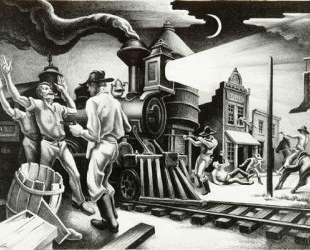 Jesse James — Томас Гарт Бентон